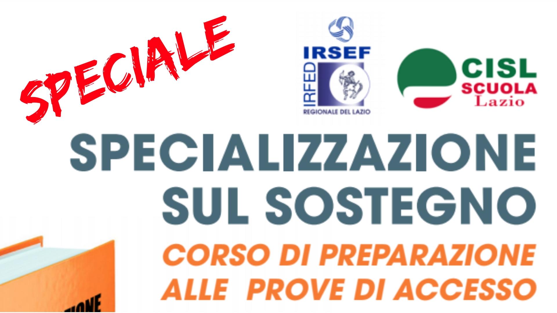 Specializzazione SostegnoFROSINONE