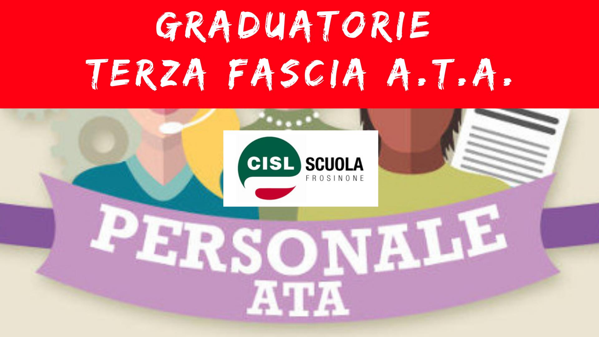 Frosinone Terza Fascia ATA